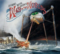 Albumomslag till Jeff Wayne: War of the Worlds