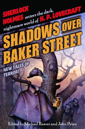 Omslag till Shadows Over Baker Street